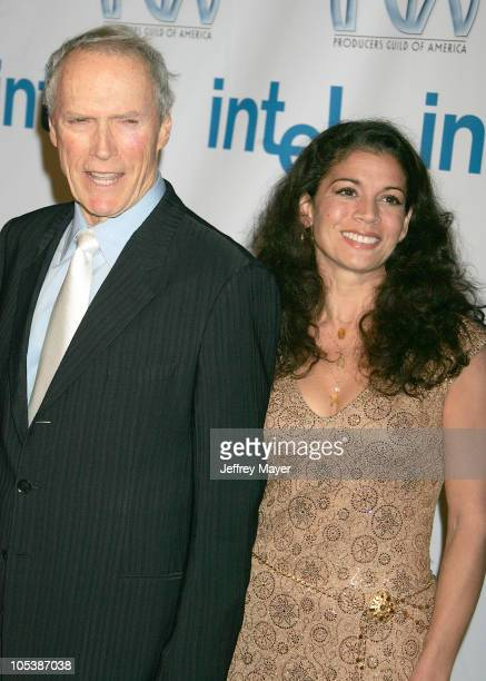 Clint Eastwood and wife Dina Eastwood during 16th Annual Producers Guild Awards Arrivals at Culver Studios in Culver City California United States