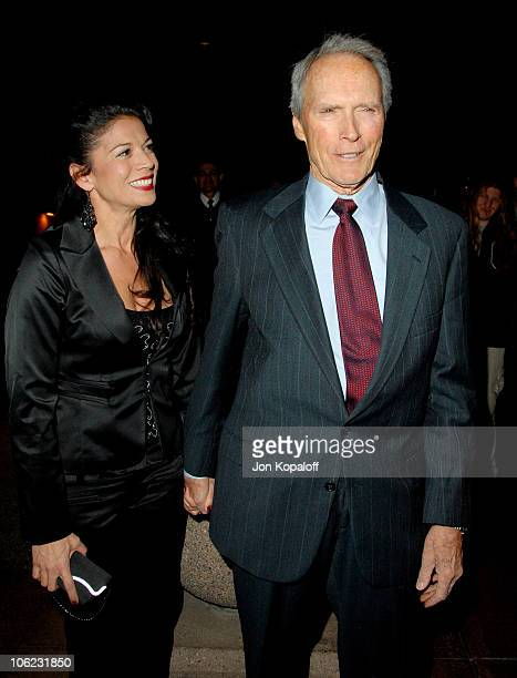 Clint Eastwood and wife Dina Eastwood during 32nd Annual Los Angeles Film Critics Association Awards Arrivals at Century City in Century City...