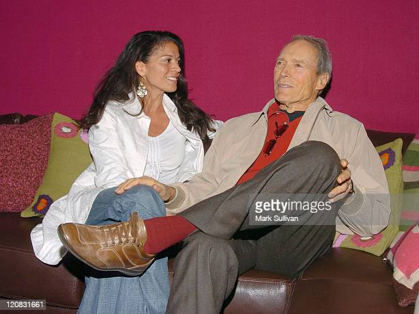 Clint Eastwood and wife Dina RuizEastwood in Backstage Creations Talent Retreat