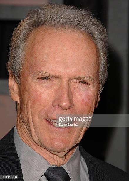 Clint Eastwood arrives at the 14th Annual Critics' Choice Awards at the Santa Monica Civic Center on January 8, 2009 in Santa Monica, California.