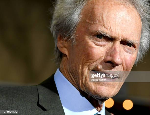 """Clint Eastwood arrives at the premiere of Warner Bros. Pictures' """"The Mule"""" at the Village Theatre on December 10, 2018 in Los Angeles, California."""