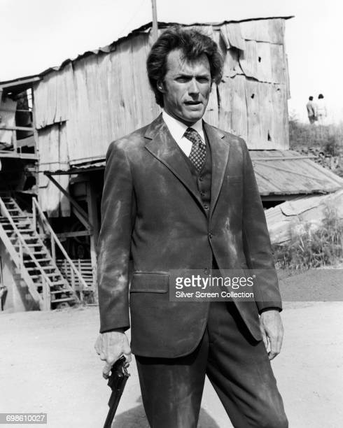 Clint Eastwood as Police Inspector Harry Callahan in the film 'Dirty Harry' 1971