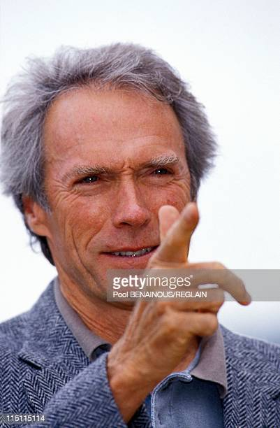 Clint Eastwood at Deauville Film Festival in Deauville France on September 05 1992
