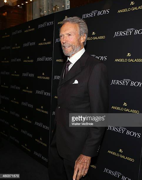Clint Eastwood attends a special New York screening reception for 'Jersey Boys' hosted by Angelo Galasso at Angelo Galasso on June 2014 in New York...