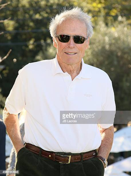 Nixo Clint Eastwood Painting By Nicholas Nixo: Clint Eastwood [& Family] Stock Photos And Pictures
