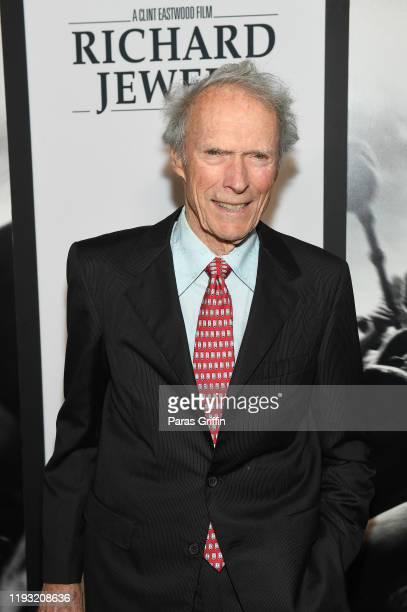 "Clint Eastwood attends ""Richard Jewell"" Atlanta screening at Rialto Center for the Arts on December 10, 2019 in Atlanta< Georgia."