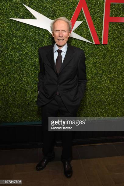 Clint Eastwood attends the 20th Annual AFI Awards at Four Seasons Hotel Los Angeles at Beverly Hills on January 03 2020 in Los Angeles California
