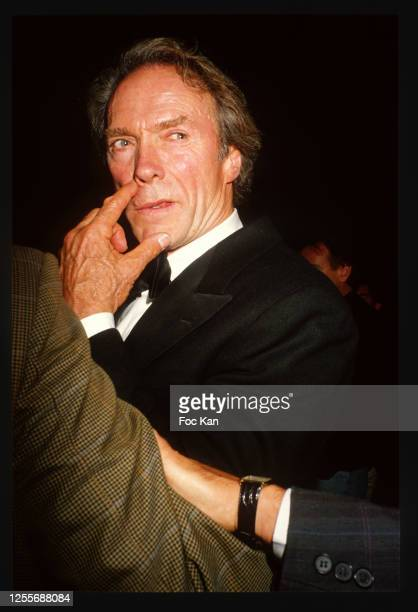 Clint Eastwood attends the 41th Cannes Film Festival on May 1988 in Cannes, France.