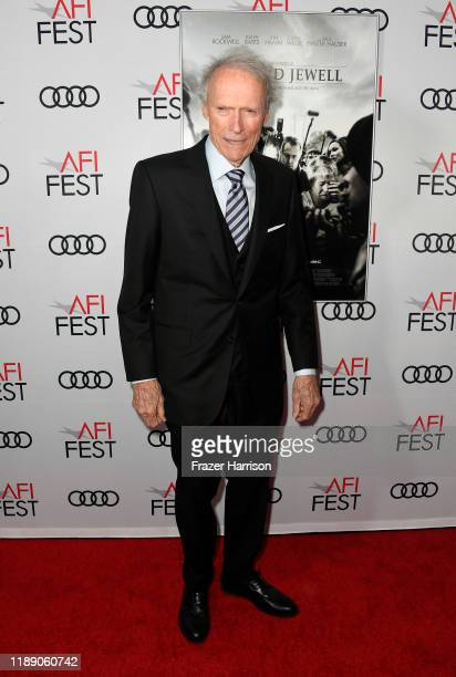 Clint Eastwood attends the AFI FEST 2019 Presented By Audi – Richard Jewell Premiere at TCL Chinese Theatre on November 20 2019 in Hollywood...