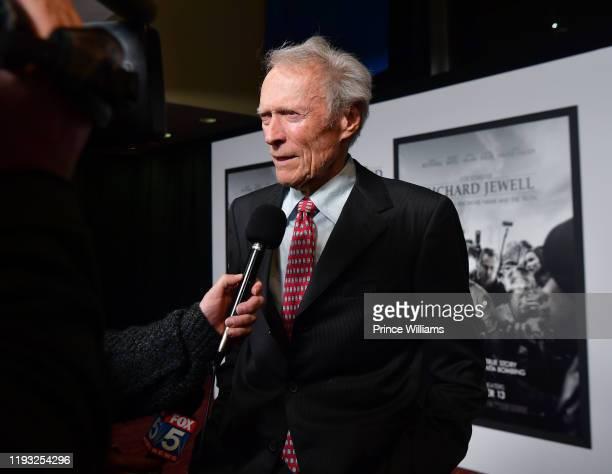 Clint Eastwood attends the Richard Jewell Atlanta Screening at Rialto Center of the Arts on December 10 2019 in Atlanta Georgia