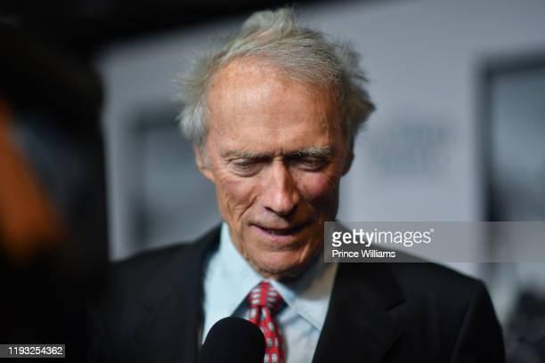 "Clint Eastwood attends the ""Richard Jewell"" Atlanta Screening at Rialto Center of the Arts on December 10, 2019 in Atlanta, Georgia."