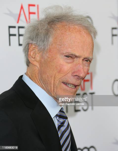 Clint Eastwood attends the Richard Jewell premiere during AFI FEST 2019 Presented By Audi at TCL Chinese Theatre on November 20 2019 in Hollywood...