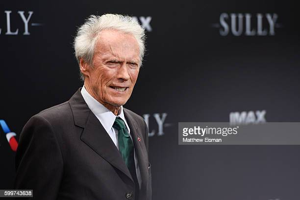 """Clint Eastwood attends the """"Sully"""" New York Premiere at Alice Tully Hall on September 6, 2016 in New York City."""