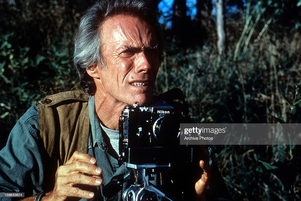 Clint Eastwood In 'The Bridges of Madison County' : News Photo