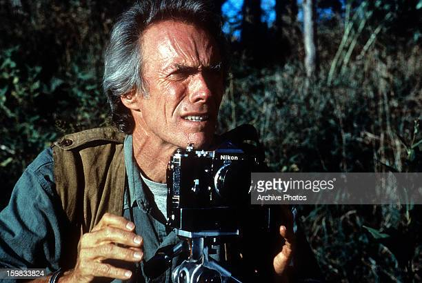 Clint Eastwood Director for the film 'The Bridges of Madison County' 1995