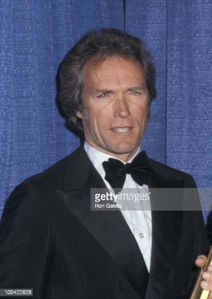 Clint Eastwood during 1980 American Movie Awards at Wilshire Theater in Beverly Hills California United States