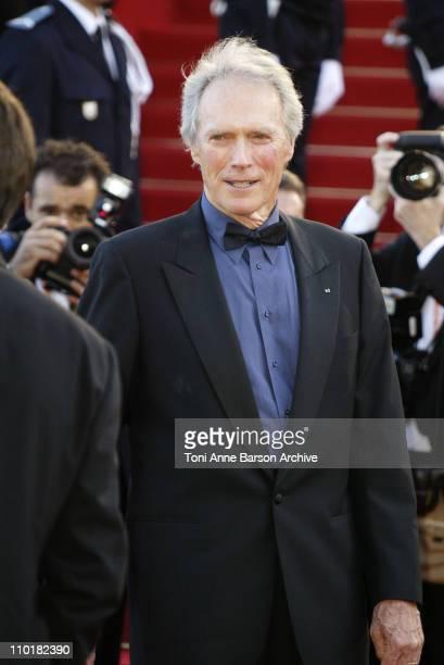 Clint Eastwood during 2003 Cannes Film Festival 'Mystic River' Premiere at Palais des Festivals in Cannes France