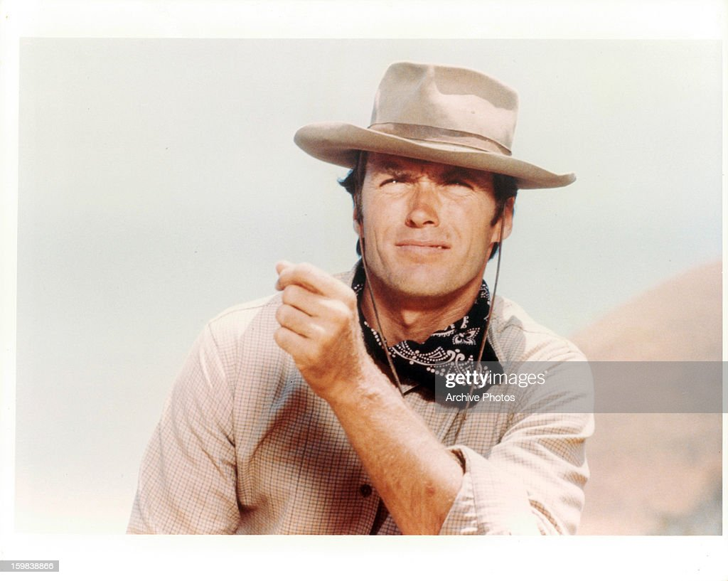 Clint Eastwood In 'Rawhide'  : News Photo