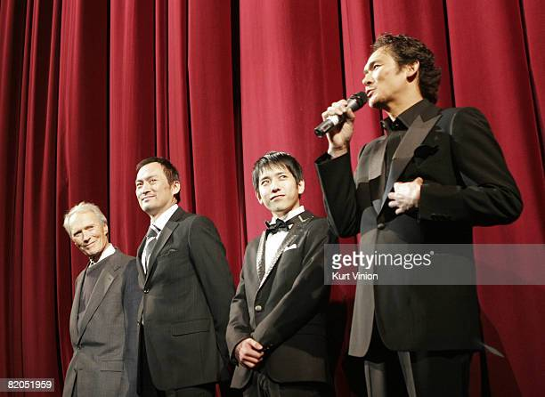 Clint Eastwood Ken Watanabe Kazunari Ninomiya and Tsuyoshi Ihara