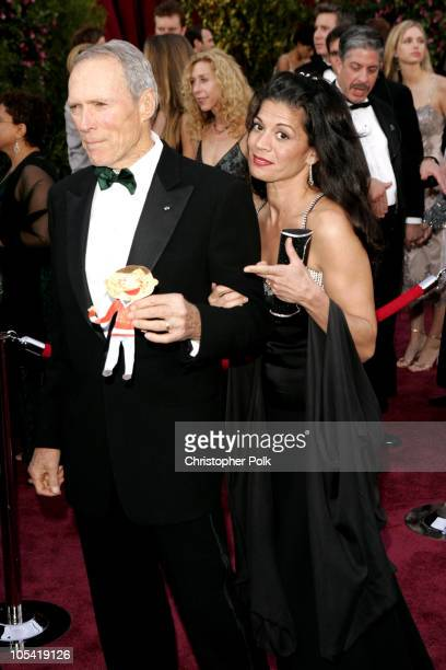 Clint Eastwood nominee Best Actor in a Leading Role for Million Dollar Baby and Dina Eastwood