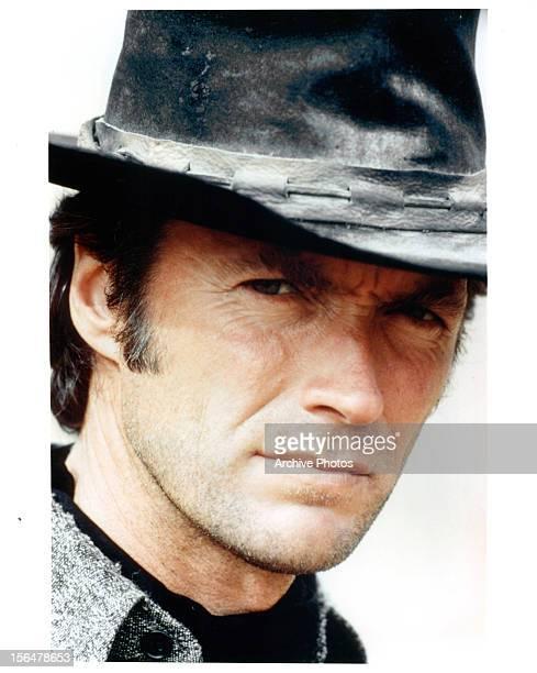 Clint Eastwood publicity portrait for the film 'High Plains Drifter' 1973