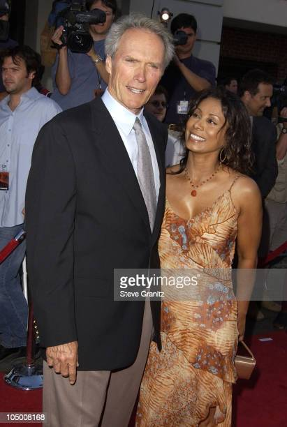 Clint Eastwood Wanda De Jesus during Blood Work Premiere at Steven J Ross Theater in Burbank California United States