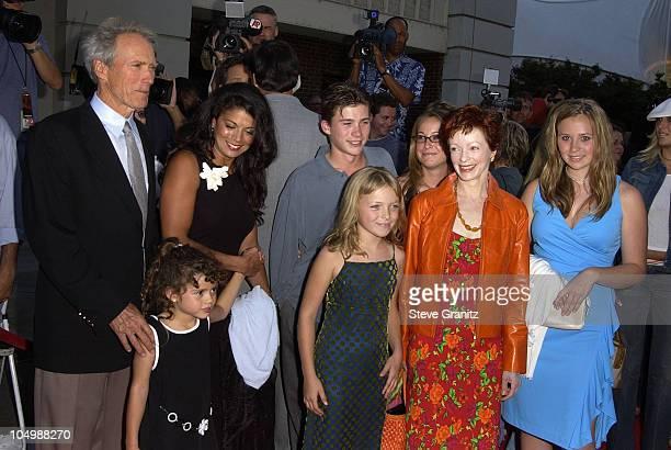 Clint Eastwood wife Dina Frances Fisher children Scott Kathryn Francesca Morgan