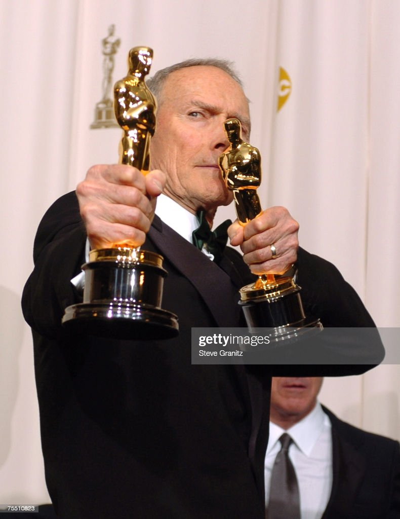 Clint Eastwood, winner Best Director for ?Million Dollar Baby? and Best Picture for ?Million Dollar Baby? at the Kodak Theatre in Hollywood, California