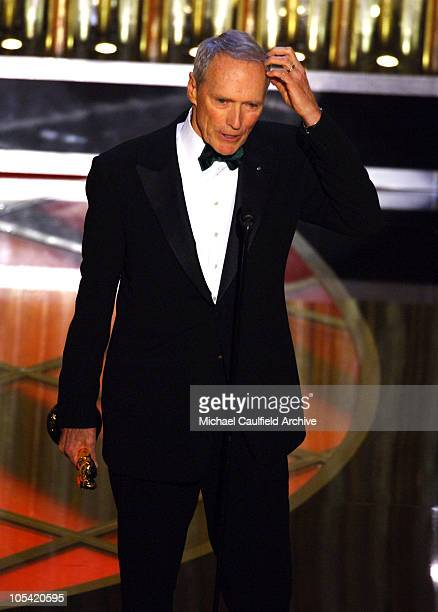 Clint Eastwood winner Best Director for 'Million Dollar Baby'
