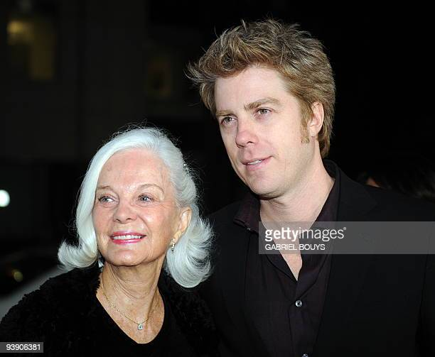 "Clint Eastwood's son, jazz musician Kyle Eastwood arrives with his mother Maggie Johnson at the premiere of ""Invictus"" in Beverly Hills, California..."