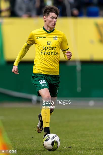 Clint Essers of Fortuna Sittard during the Jupiler League match between Fortuna Sittard and Helmond Sport at the Fortuna Sittard Stadium on April 02...