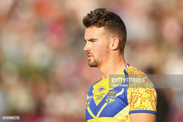 Clint Gutherson of City watches on during the NSW Origin match between City and Country at Scully Park on May 8 2016 in Tamworth Australia