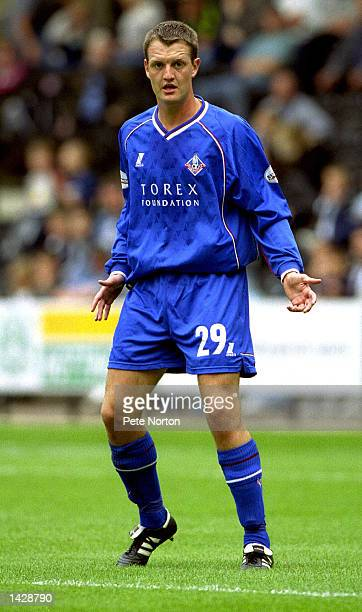 Clint Hill of Oldham Athletic during the Nationwide League Divison Two match between Notts County and Oldham Athletic at Meadow Lane in Nottingham...