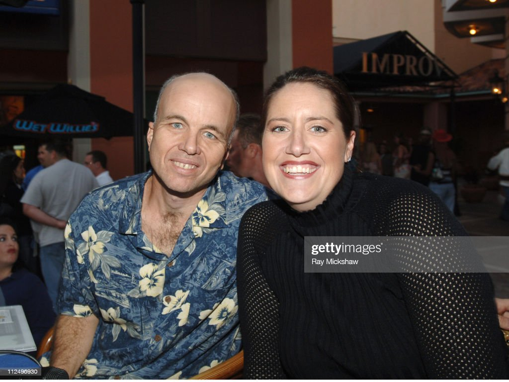 Clint Howard and Harley Rhodes during 10th Annual Palm Beach International Film Festival - 97.9FM Hosts Interview with Clint Howard at Muvico Parisian 20 at CityPlace in Palm Beach, Florida, United States.