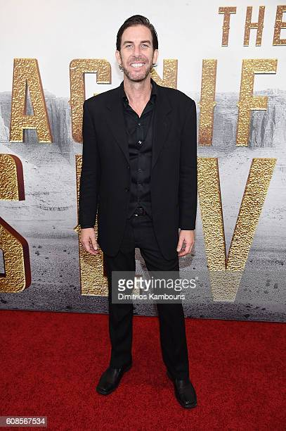 Clint James attends The Magnificent Seven premiere at Museum of Modern Art on September 19 2016 in New York City