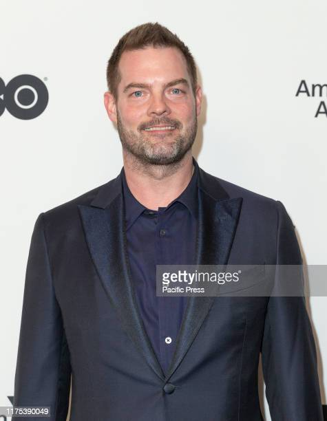 Clint Kisker attends Motherless Brooklyn premiere during 57th New York Film Festival at Alice Tully Hall