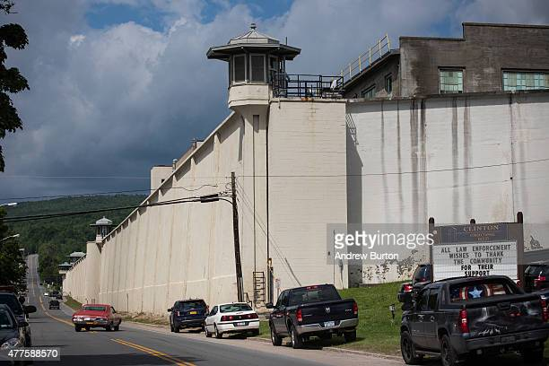 Clinton Correctional Facility is seen on June 18, 2015 in Dannemora, New York. After conducting a manhunt across approximately 10,000 acres for two...