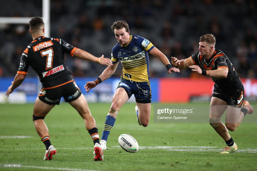 NRL Rd 20 - Tigers v Eels : News Photo