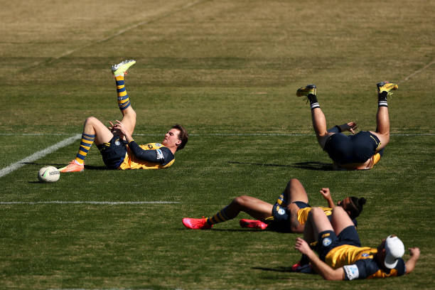 AUS: Parramatta Eels Training Session