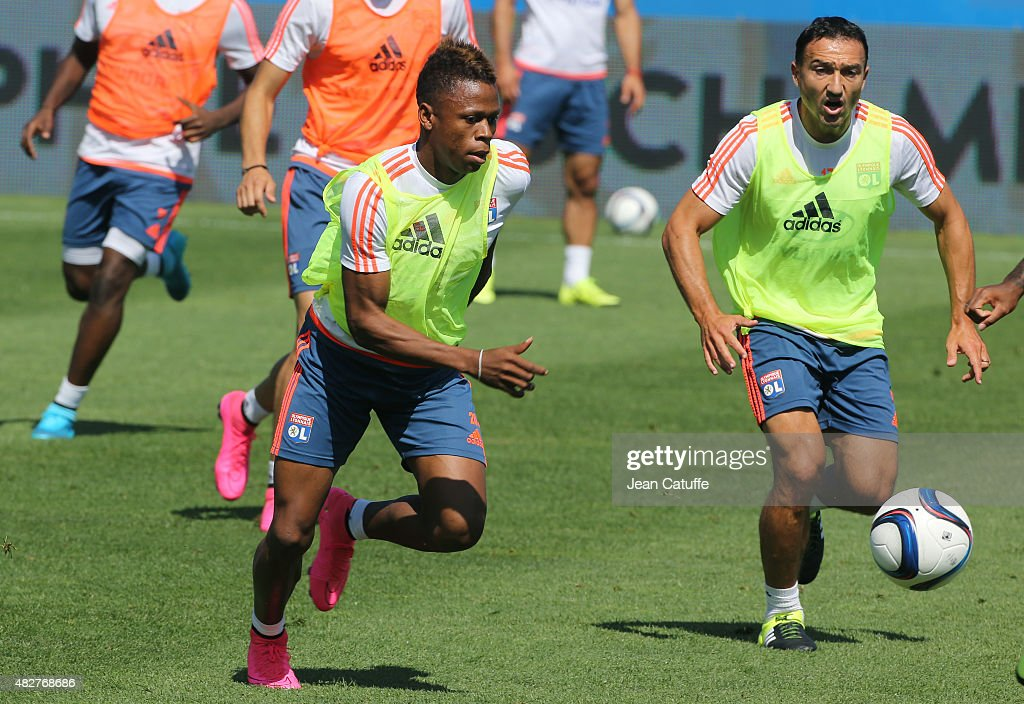 Olympique Lyonnais Training Session : News Photo