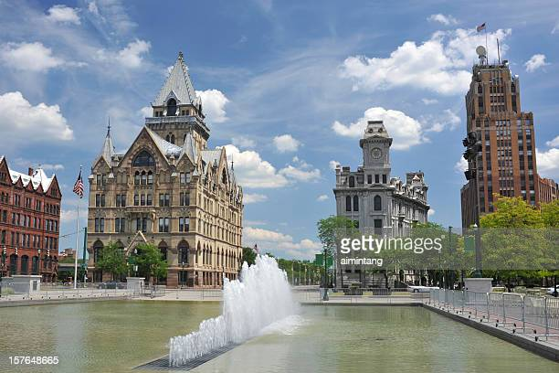 clinton square - syracuse new york stock pictures, royalty-free photos & images