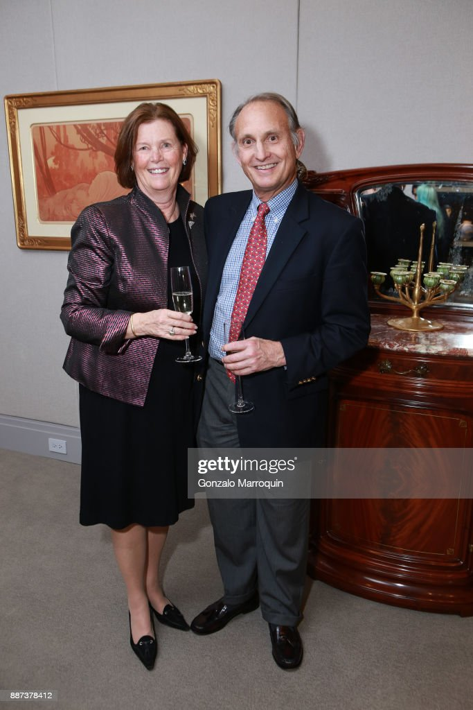 Clinton Standart and Joe Standart during the Macklowe Gallery Hosts 2018 Winter Antiques Show Kickoff Event at 445 Park Avenue on December 6, 2017 in New York City.