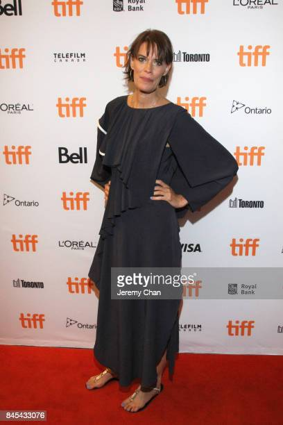 Clio Barnard attends the 'Dark River' premiere during the 2017 Toronto International Film Festival at Winter Garden Theatre on September 10 2017 in...