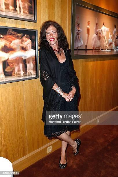 Clio de Goldschmidt attends the 'Eugenia Grandchamp Des Raux' Danse Exhibition at Galerie Pierre Passebon on June 10 2014 in Paris France