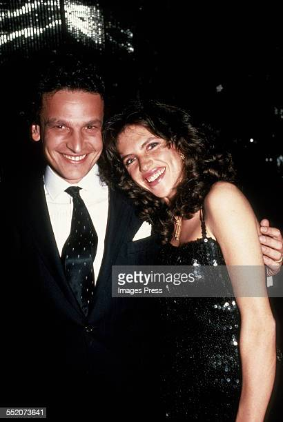 Clio Goldsmith and Carlo Puri circa 1982 in New York City