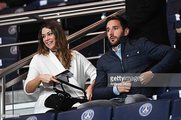 Clio Pajczer during the French Ligue 1 game between Paris SaintGermain and Dijon FCO at Parc des Princes on September 21 2016 in Paris France