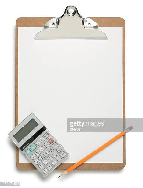 Clipboard & Calculator