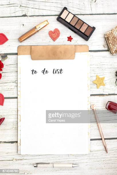 clipboard  with to do list written