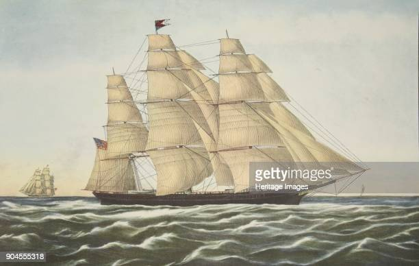 Clipper Ship 'Flying Cloud' pub 1852 Currier Ives It was designed by Donald McKay of Boston and considered one of the greatest clippers ever built