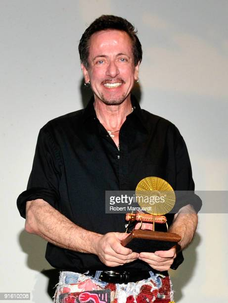 Clive Barker receives the Time Machine Award at the 42nd Sitges Film Festival on October 8 2009 in Barcelona Spain